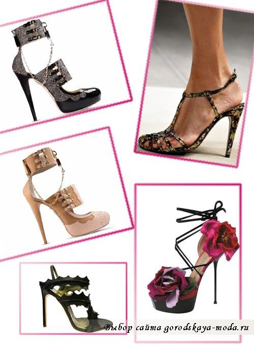 Миниатюра к статье Модные женские туфли весна-лето 2012