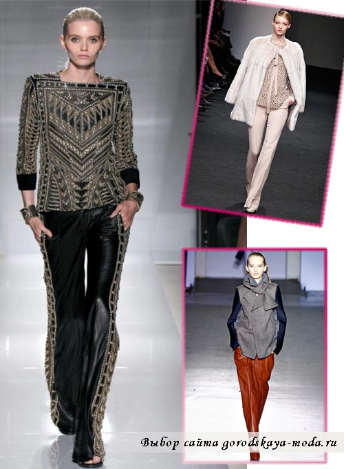 Миниатюра к статье Модные брюки весна-лето 2012