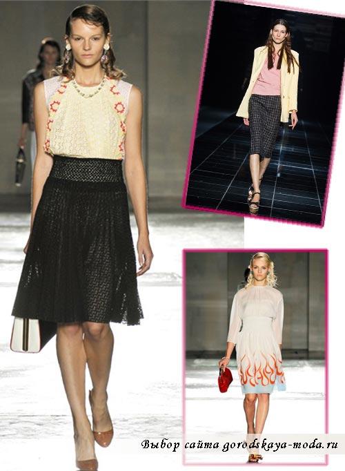 Миниатюра к статье Модные юбки весна-лето 2012