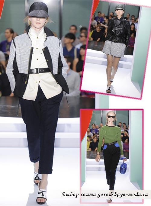 фото моделей одежды коллекции kenzo весна 2012