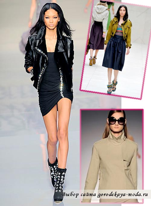 Женские куртки весна 2012