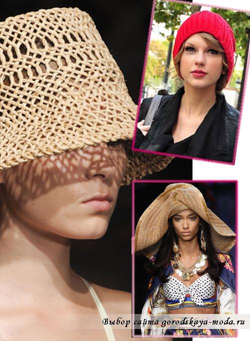 Как завязывать шарф красиво и... Модные шапки весна 2011