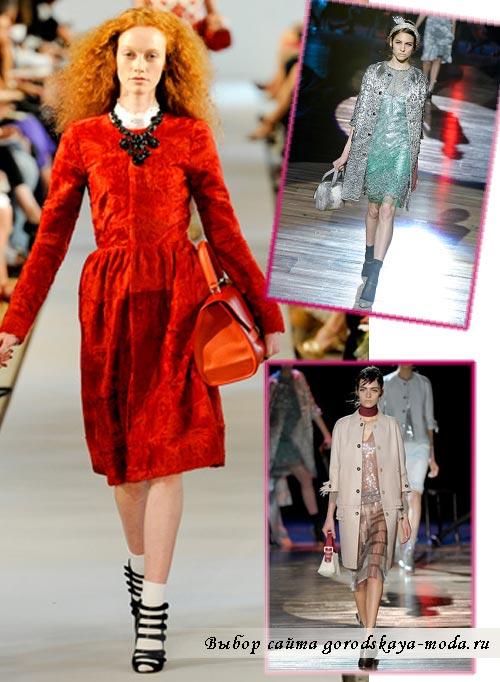 модные пальто весна 2012 фото