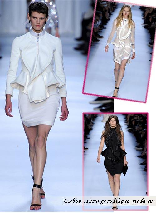 фото коллекции Givenchy весна лето 2012
