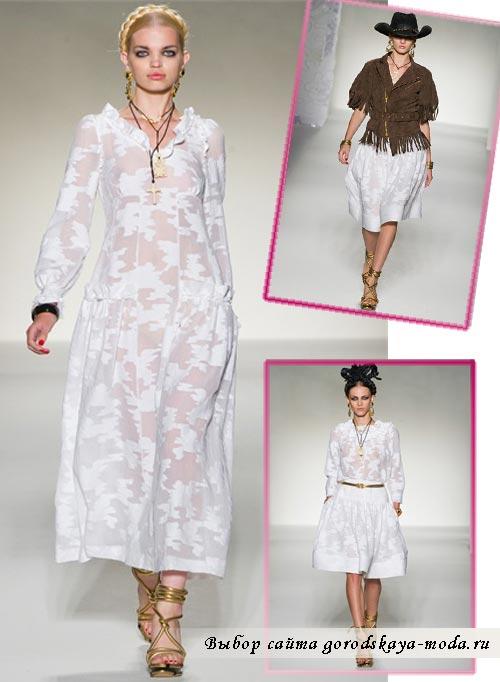 Миниатюра к статье В испанском стиле: Moschino весна-лето 2012