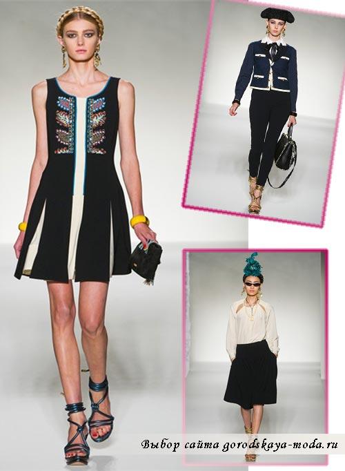 фото одежды из коллекции Moschino