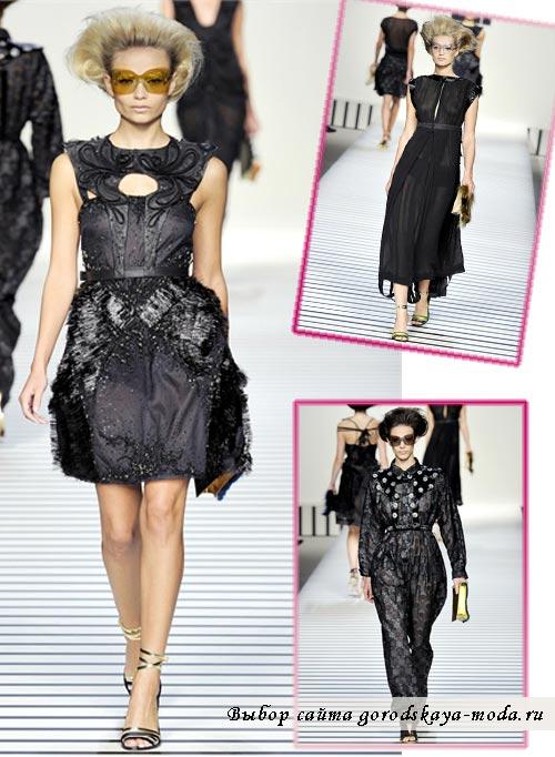 Миниатюра к статье Новая коллекция Fendi весна-лето 2012