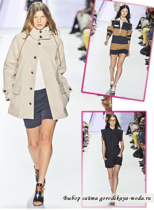 фото моделей одежды из коллекции Lacoste