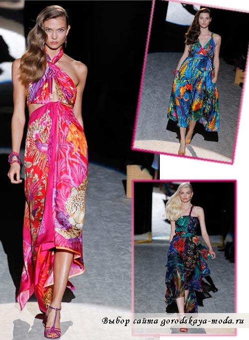 фото моделей одежды из коллекции Salvatore Ferragamo