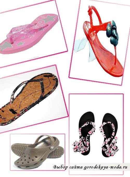 пляжная обувь фото