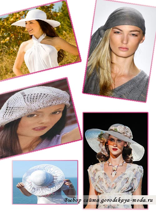 модные шляпы лето 2012 фото