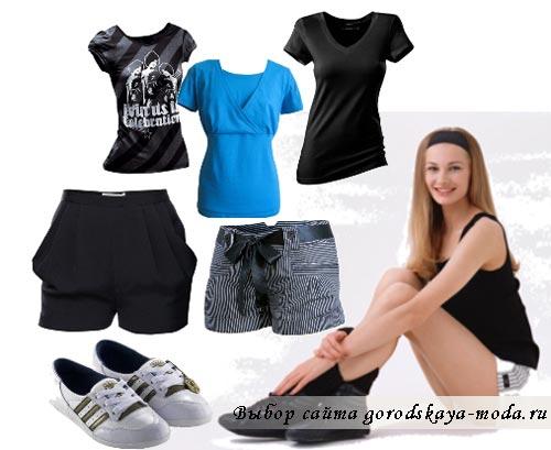 Спортивный комплект одежды фото