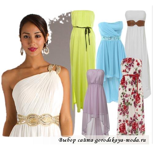 фото греческого платья