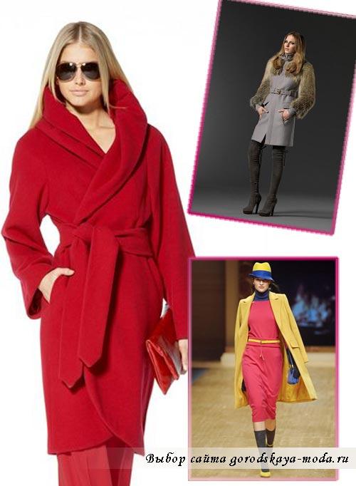 Миниатюра к статье Модные женские пальто осень-зима 2013