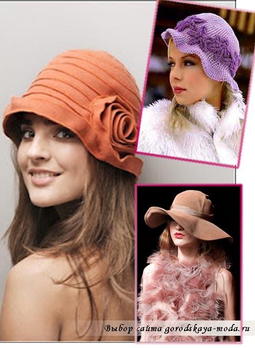 Самые модные шапки своими руками 387