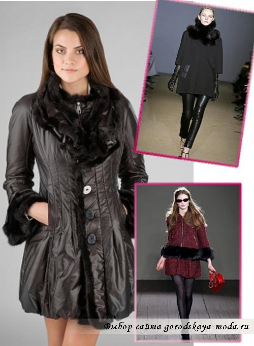 фото модного женского пальто на осень 2012