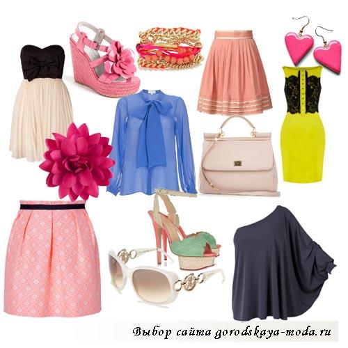 романтический стиль одежды фото