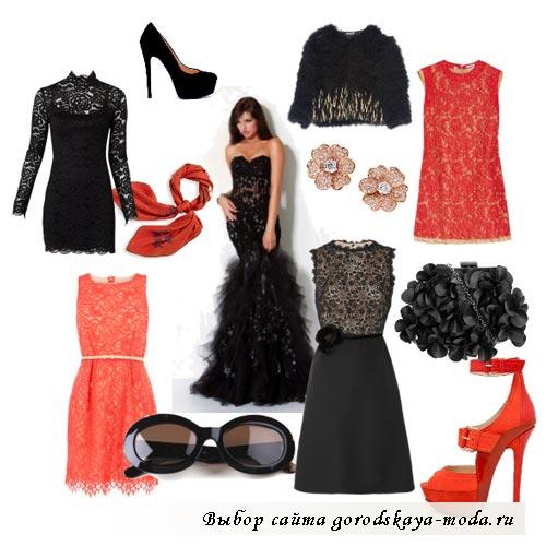 Миниатюра к статье Модные кружевные платья