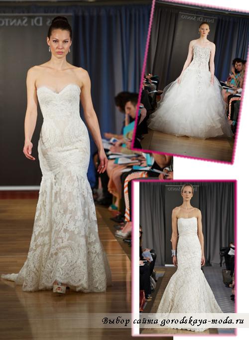свадебная мода осень2012