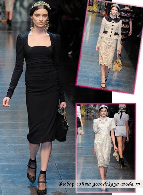 Dolce Gabbana осень  фото