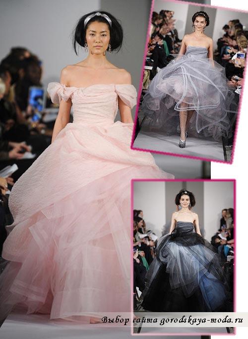 свадебное платье Оскар де ла Рента фото
