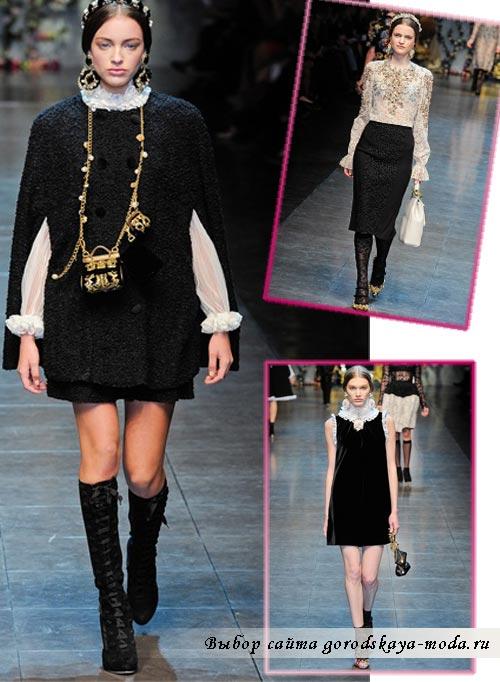Фото Dolce Gabbana осень 2012
