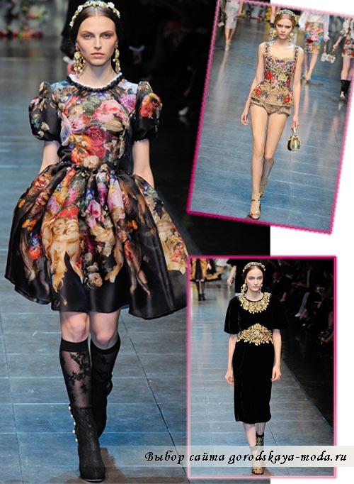 Фото Dolce Gabbana 2012