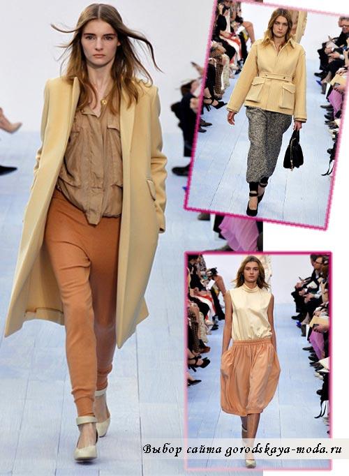 Одежда из коллекции Chloe осень-зима 2012-2013