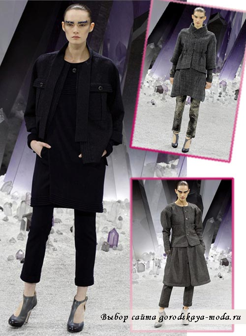бренд Chanel новая осенне зимняя коллекция фото