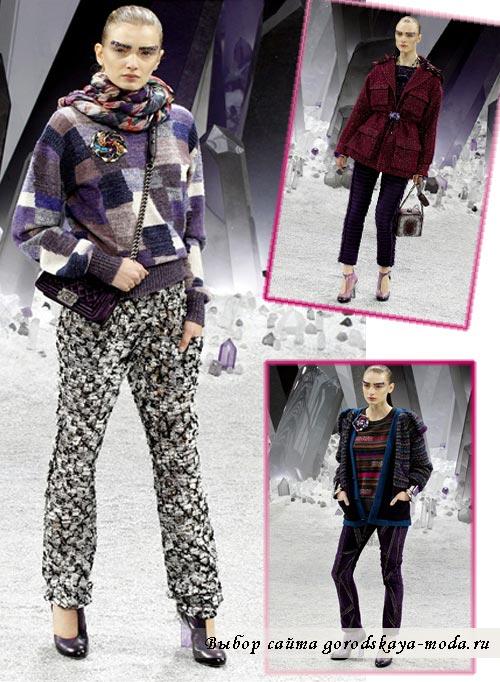 одежда Chanel зима фото