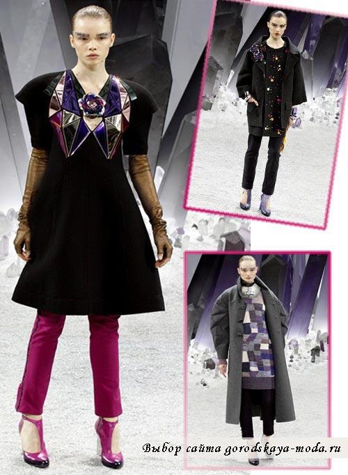 одежда Chanel осень фото