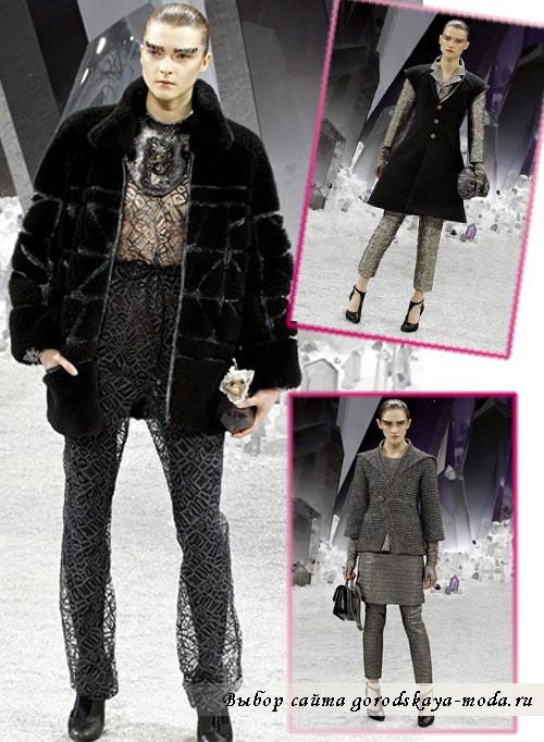 осень зима 2012-2013 Chanel