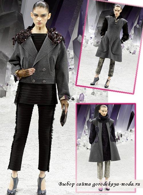 фотографии моделей одежды новой коллекции Chanel