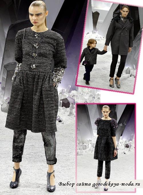 модели из коллекции Chanel осень зима 2012 2013 фото