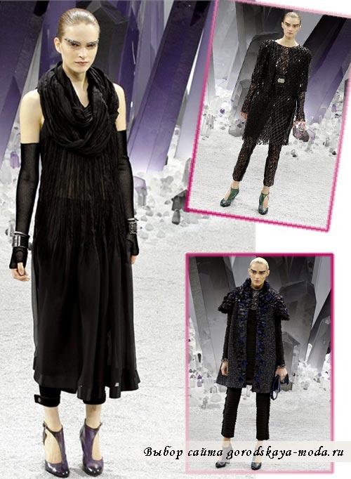 модели из коллекции Chanel осень зима 2012 2013