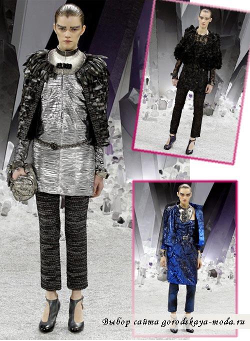 фото коллекции chanel осень зима 2012 2013