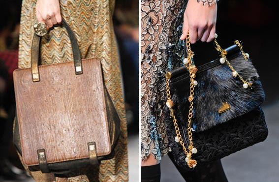 Модные женские и мужские сумки осень-зима 2012-2013.