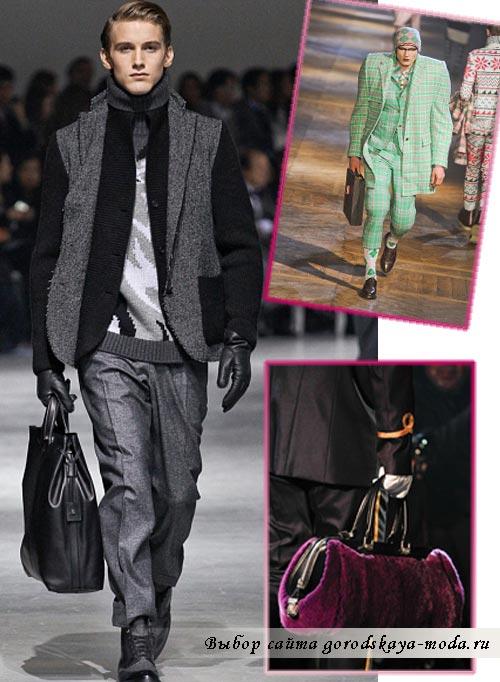 модные мужские сумки осень зима 2012 2013 фото