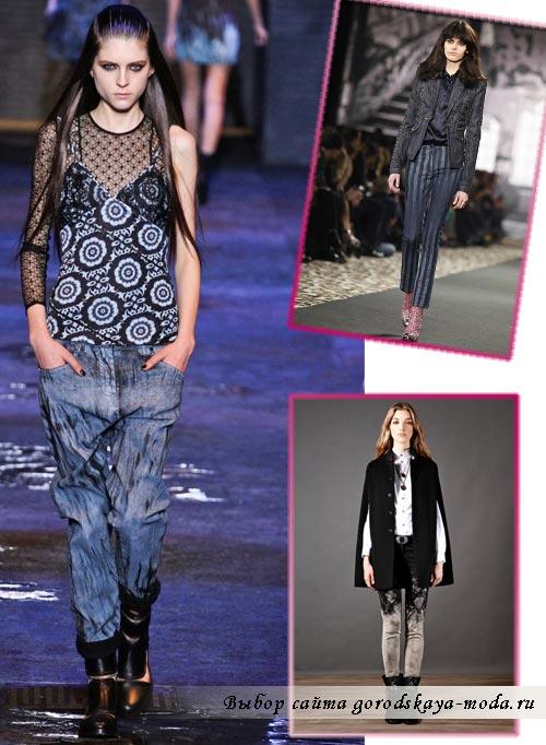 фото модных джинсов осень зима 2012 2013