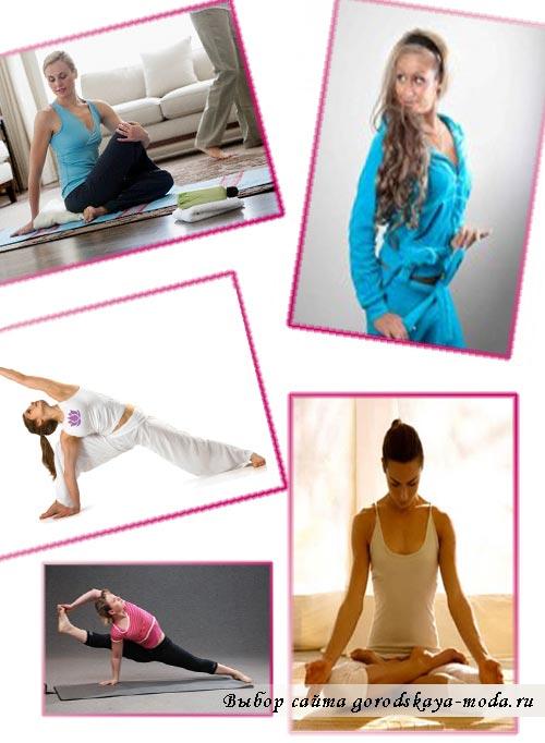 одежда для йоги фото