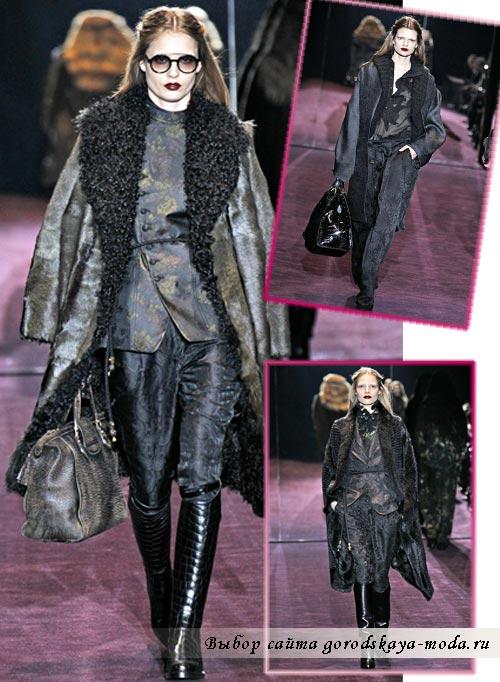 фото из коллекции Gucci осень зима 2012 2013