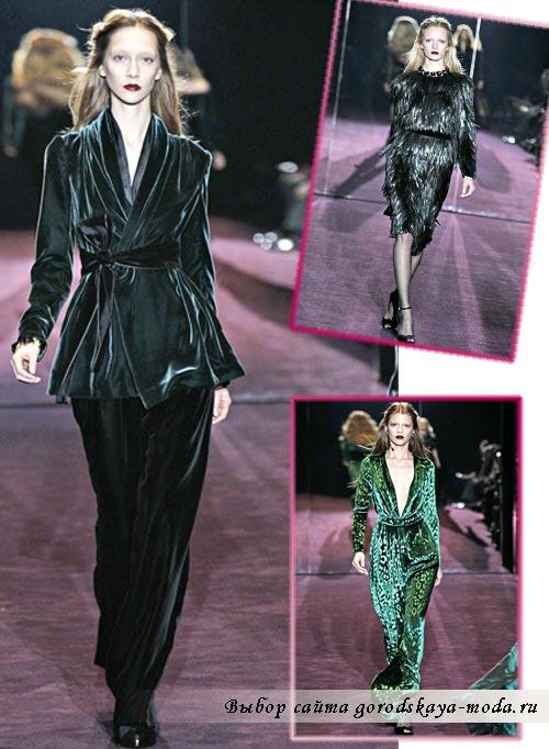 коллекция Gucci осень 2012