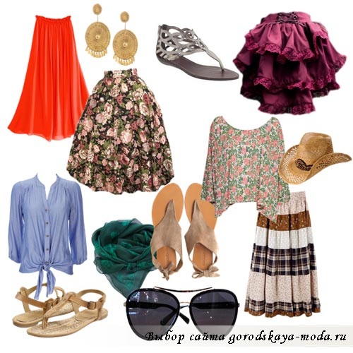 Миниатюра к статье Богемный стиль одежды