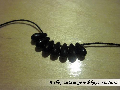 создание вязанного браслета фото