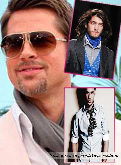 Миниатюра к статье Мужской шейный платок - альтернатива галстуку