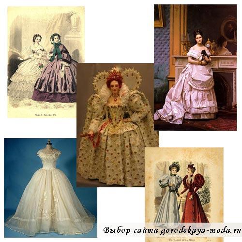 викторианское платье фото