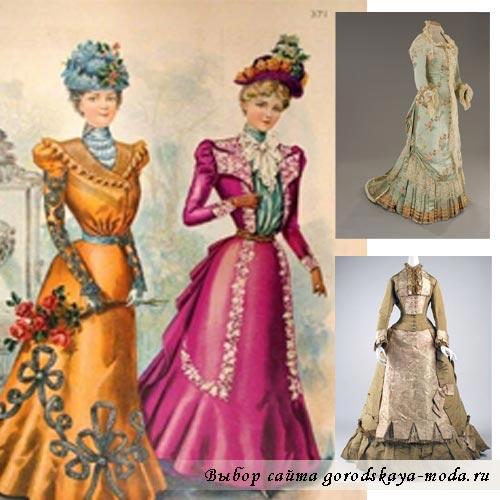 одежда в викторианском стиле фото