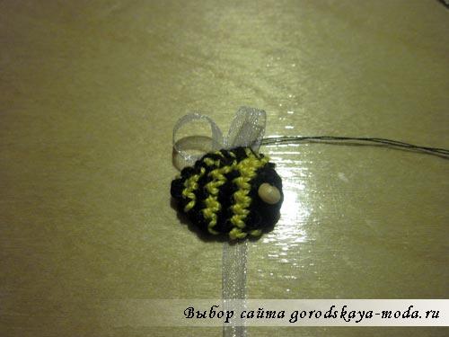 вязание браслета