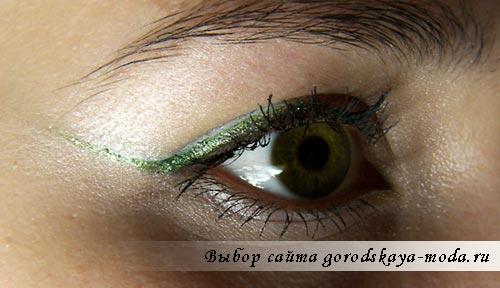 фото макияжа для зеленых глаз