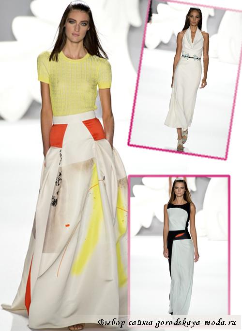 коллекция Carolina Herrera весна-лето 2013